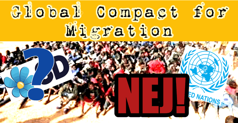 Kan SD stoppa Global Compact for Migration? (FN avtal 10 december 2018)
